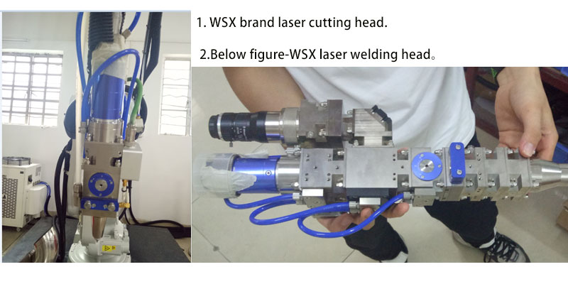 3D robotic arm laser cutting machine