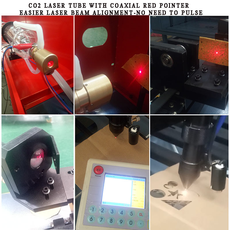 co2 laser beam alignment