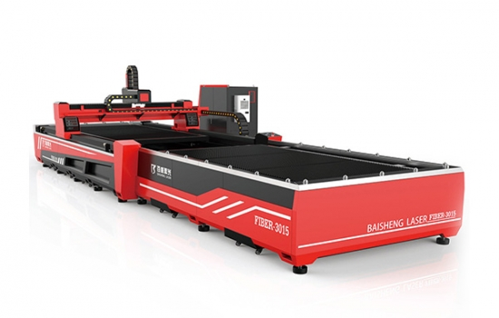 Fiber laser with shuttle table